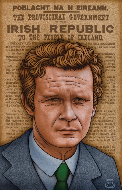 Portrait of Martin McGuinness
