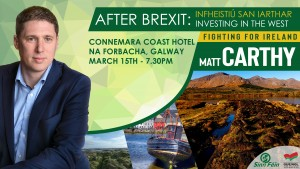 Matt Carthy Galway Event March 2019