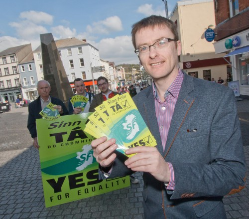 David Cullinane calls for a resounding yes vote in Waterford