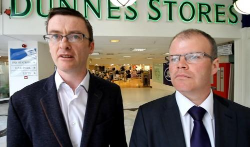Senator David Cullinane and Peadar Tóibín TD