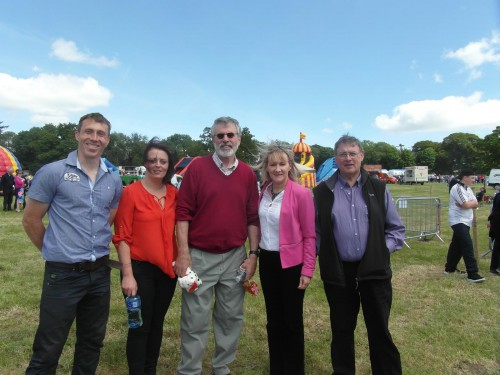 Gerry Adams Louth Agricultural Show 1