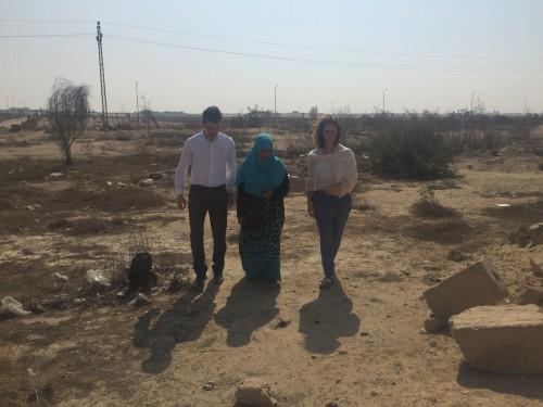 Visiting Ibrahim Halawa