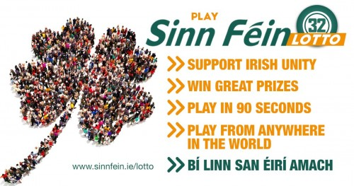 Play Sinn Féin Lotto