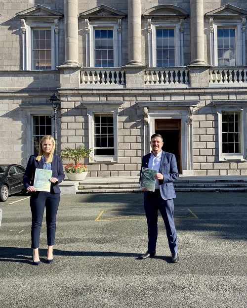 Claire Kerrane TD and Mark Ward TD launch household debt survey results