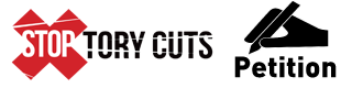 Stop Tory Cuts Petition Ad