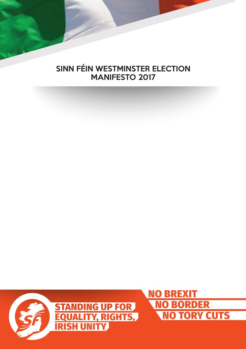 2017 Westminster Election Manifesto