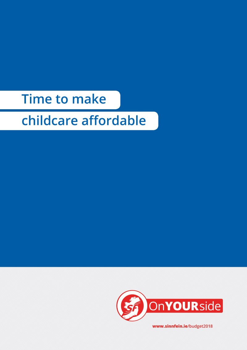 Time to make childcare affordable