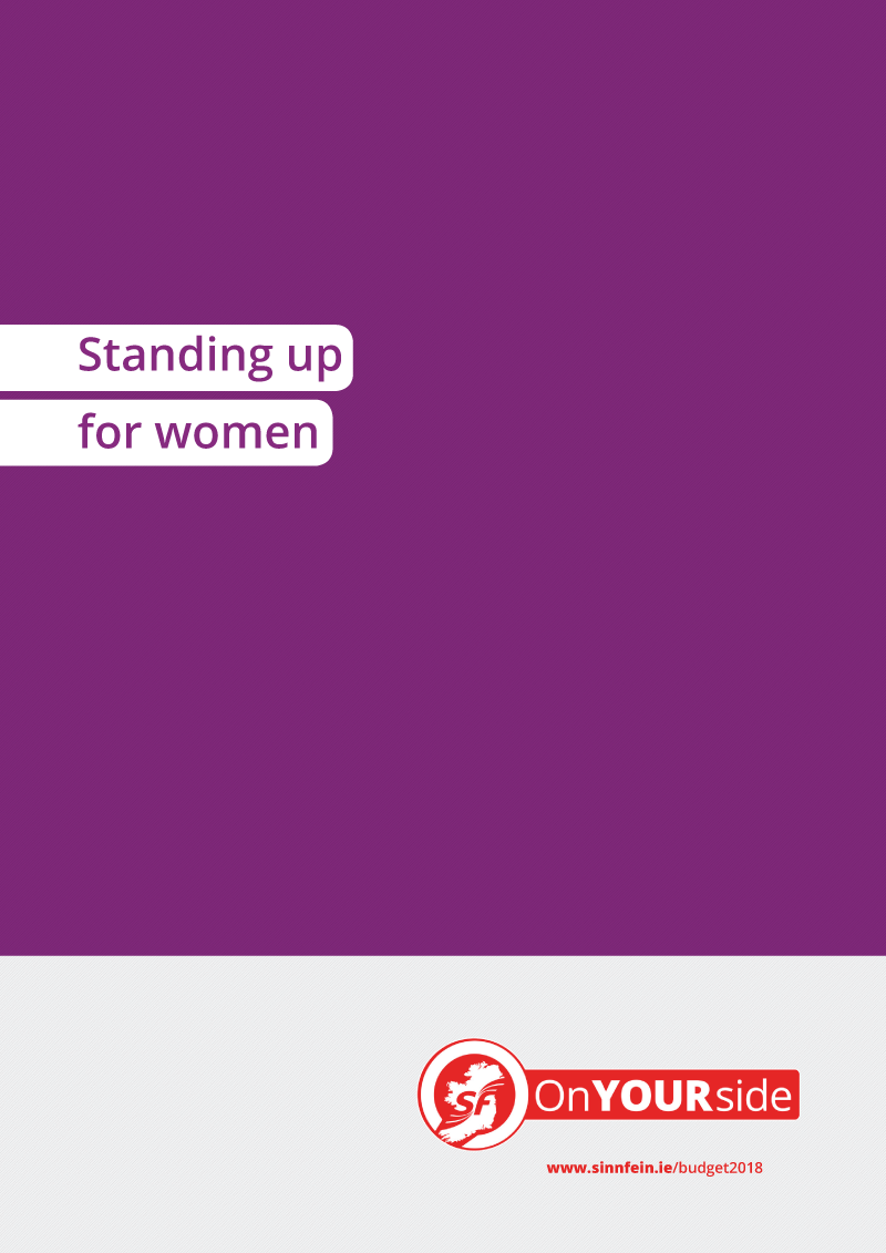 Standing up for women