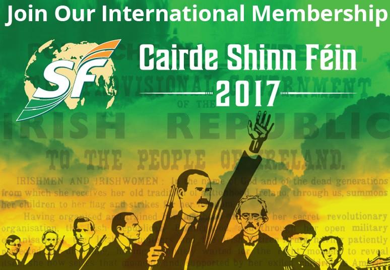 Join Cairde Shinn Féin