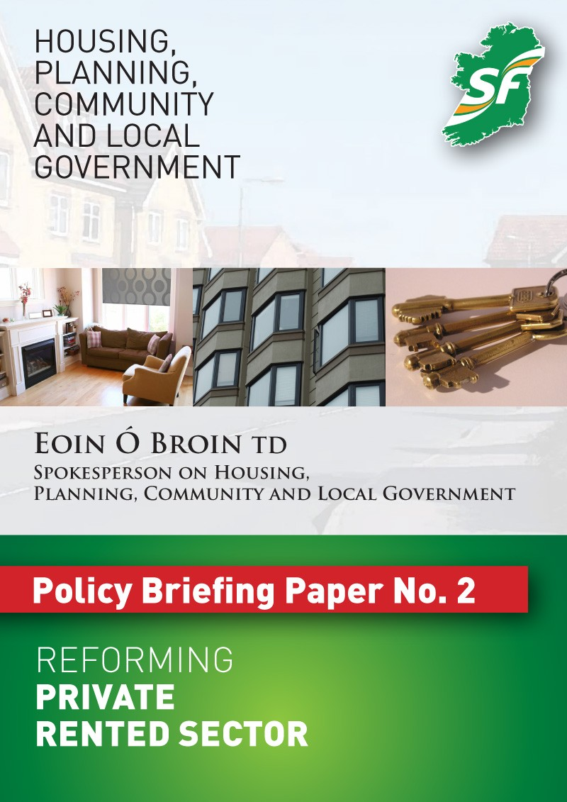 Reforming the Privated Rental Sector
