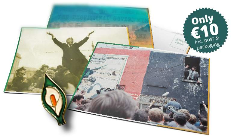 Easter Lily and Postcards