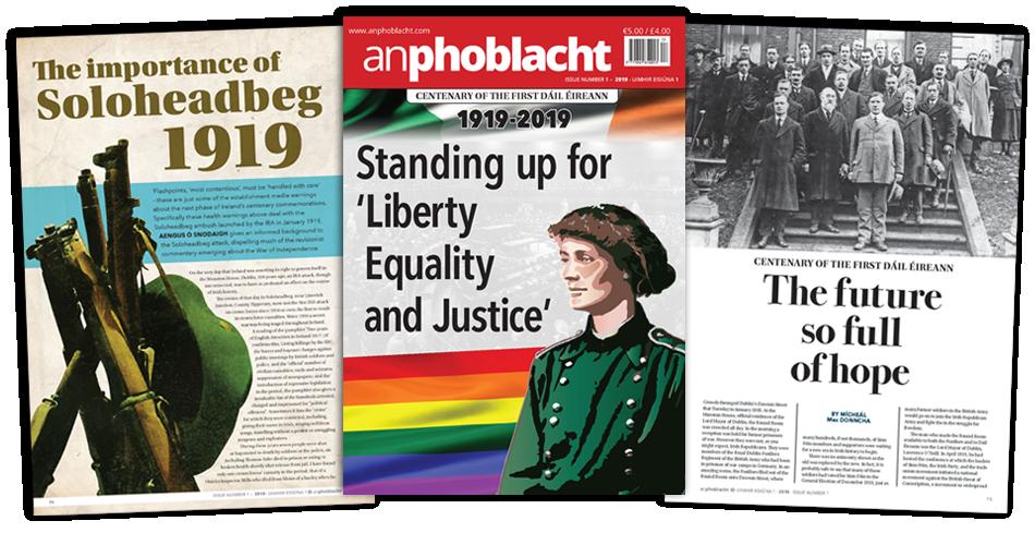 An Phoblacht First Edition 2019