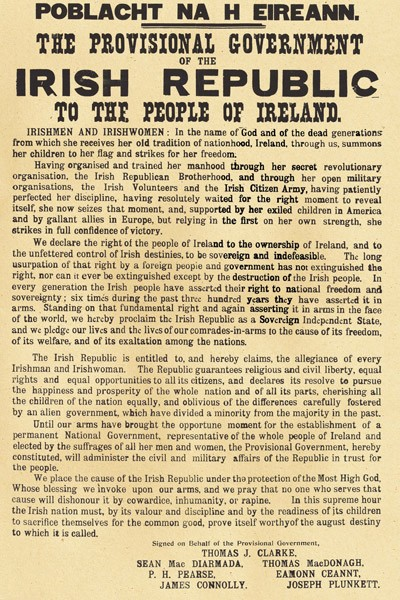 1916 Irish Proclamation