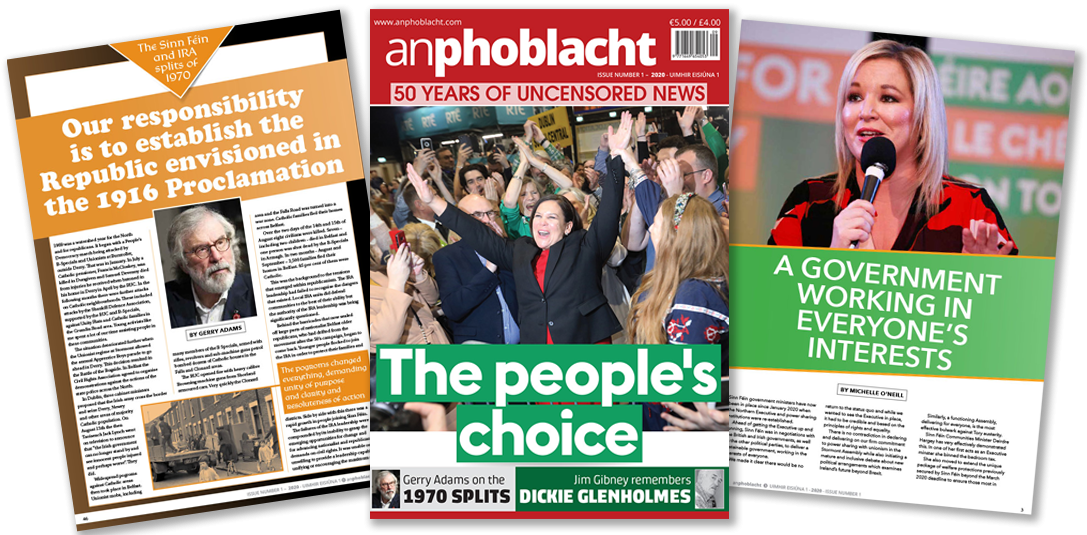 An Phoblacht 2020 First Edition