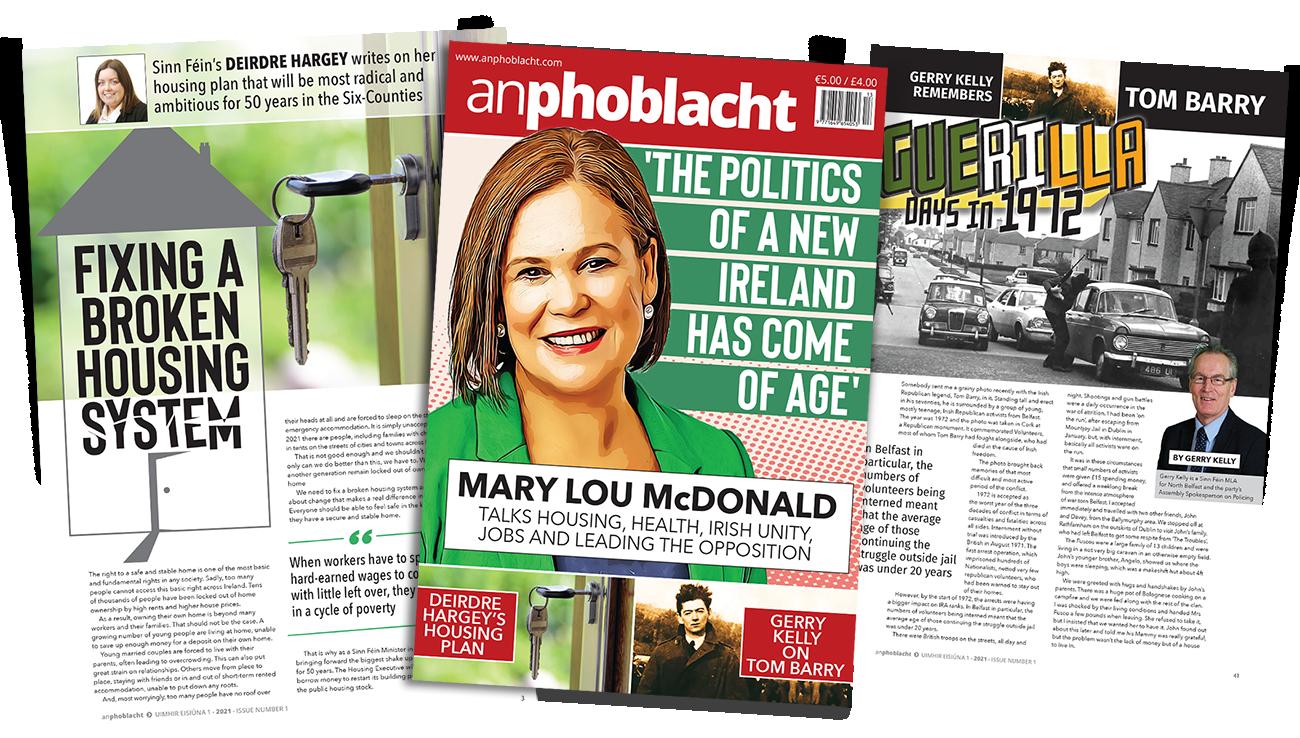 An Phoblacht 2021 First Edition